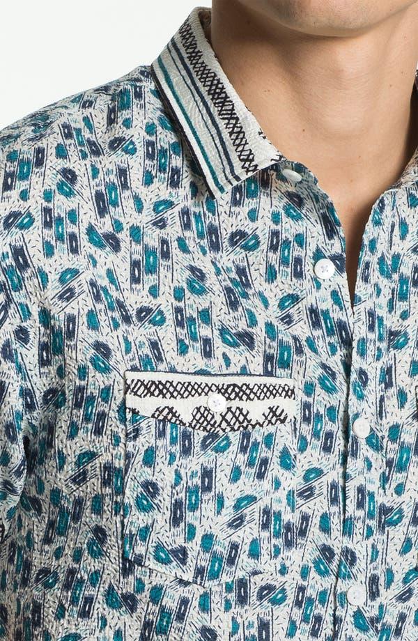 Alternate Image 3  - Burberry Prorsum Crinkled Print Shirt