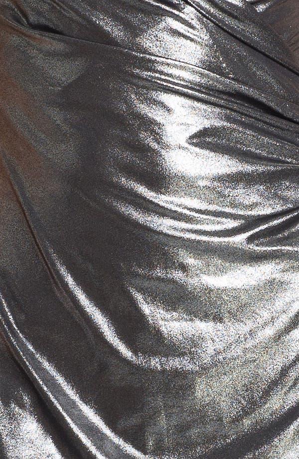Alternate Image 3  - KAMALIKULTURE Sleeveless Faux Wrap Dress