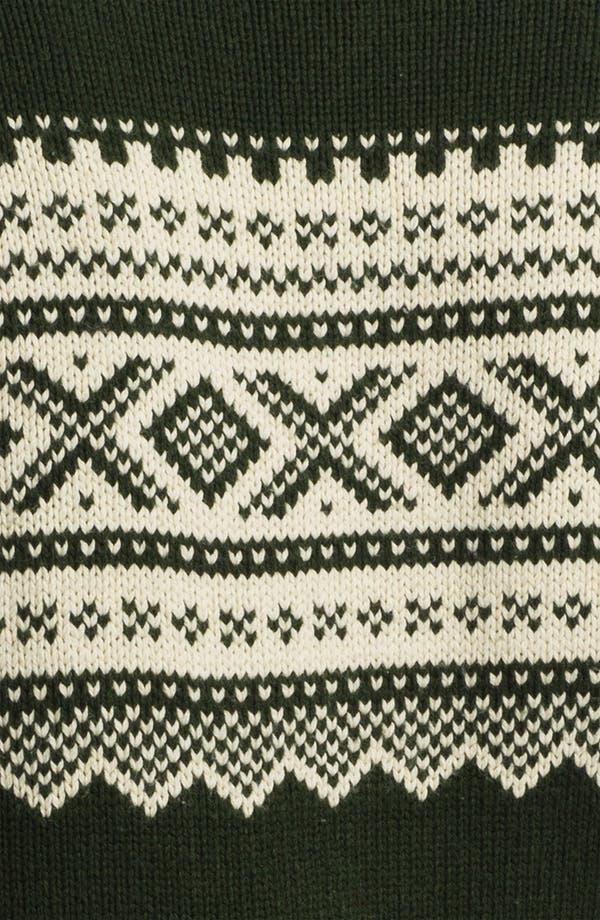Alternate Image 3  - Gant Rugger Jacquard Crewneck Sweater