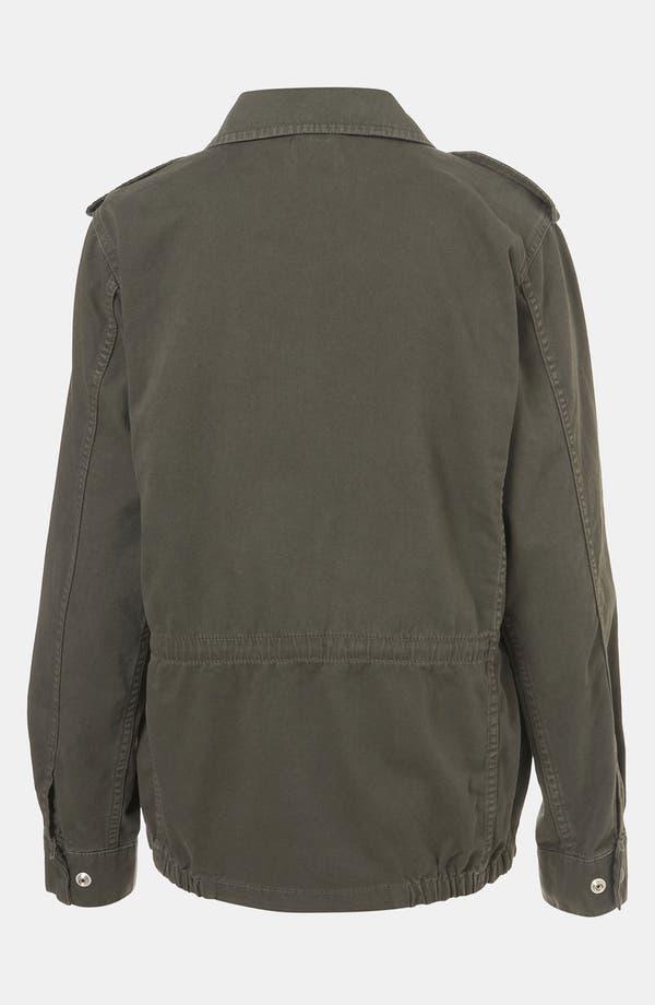 Alternate Image 2  - Topshop Military Jacket