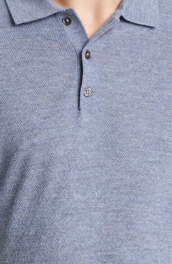 Alternate Image 3  - Pringle of Scotland Merino Wool Knit Polo