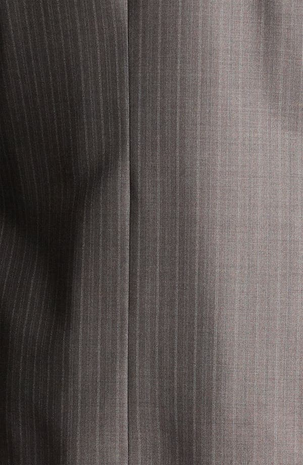Alternate Image 7  - Peter Millar Stripe Wool Suit