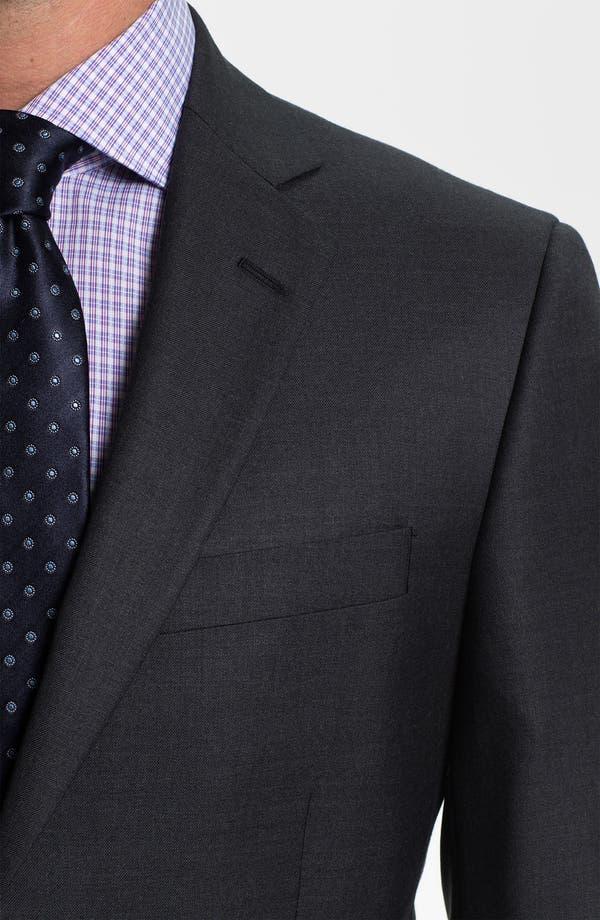 Alternate Image 6  - Brooks Brothers 'Madison' Wool Suit