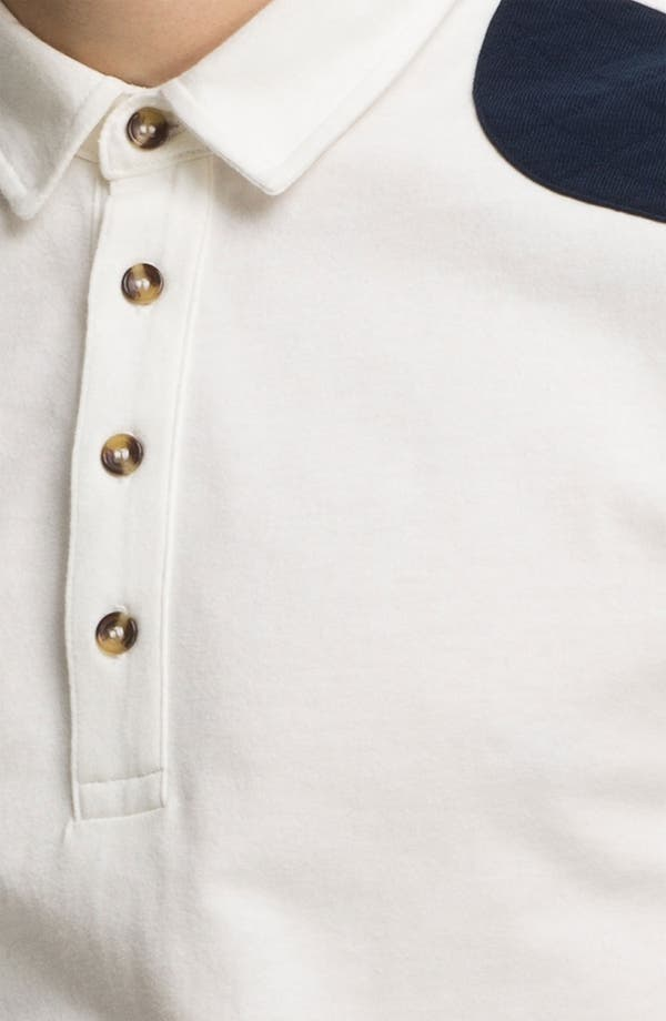 Alternate Image 3  - Topman Quilted Patch Polo