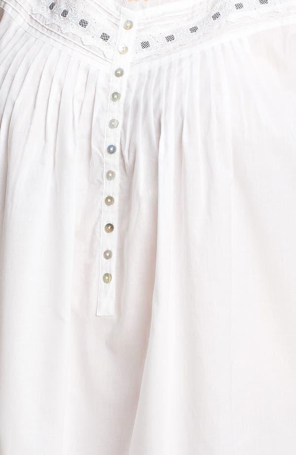 Alternate Image 3  - Eileen West 'Sweet Promise' Short Nightgown (Plus)