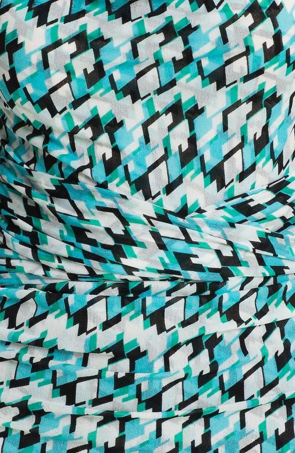 Alternate Image 3  - Classiques Entier® Print Silk Blend Mesh Top