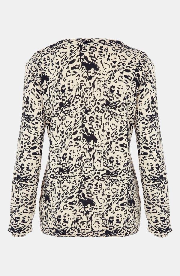 Alternate Image 2  - Topshop Animal Print Sweater