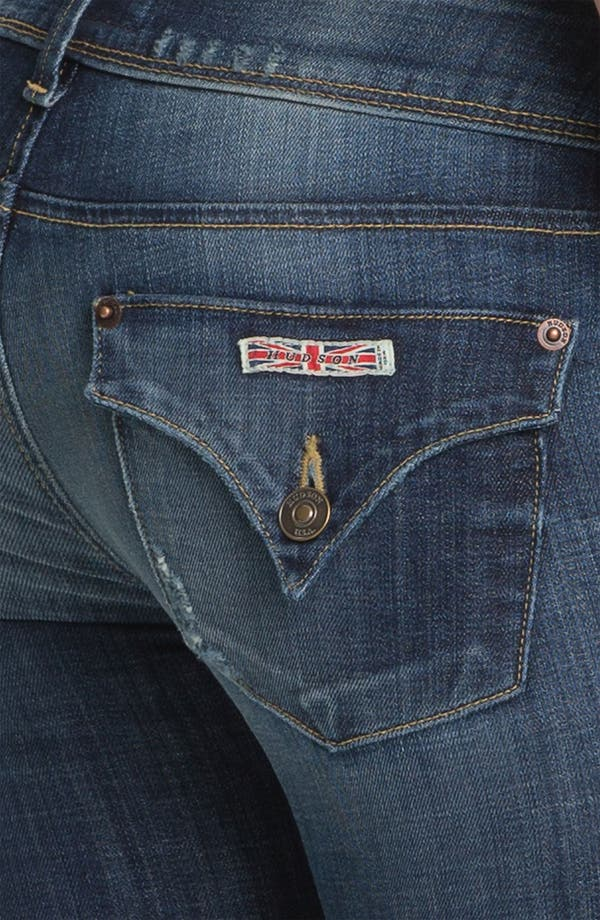 Alternate Image 3  - Hudson Jeans Skinny Stretch Jeans (Whitcomb)