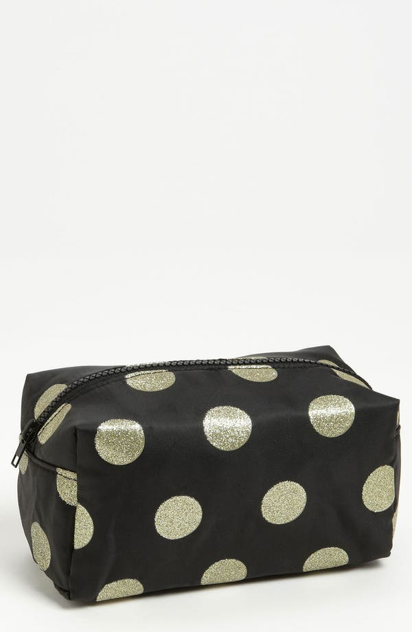 Alternate Image 1 Selected - BP. Metallic Dot Cosmetics Bag