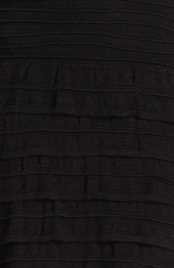 Alternate Image 3  - Cut25 Cable Knit Ruffle Tank Dress