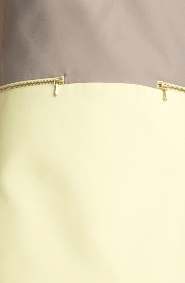 Alternate Image 3  - Victoria, Victoria Beckham 'Dry Scrunch' Shift Dress