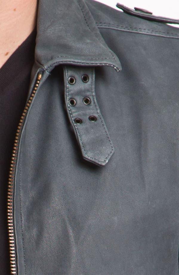 Alternate Image 3  - DIESEL® 'Lacco' Leather Jacket