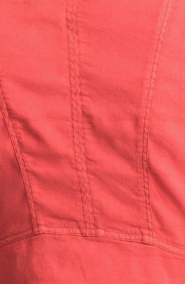 Alternate Image 3  - Free People Linen Moto Jacket