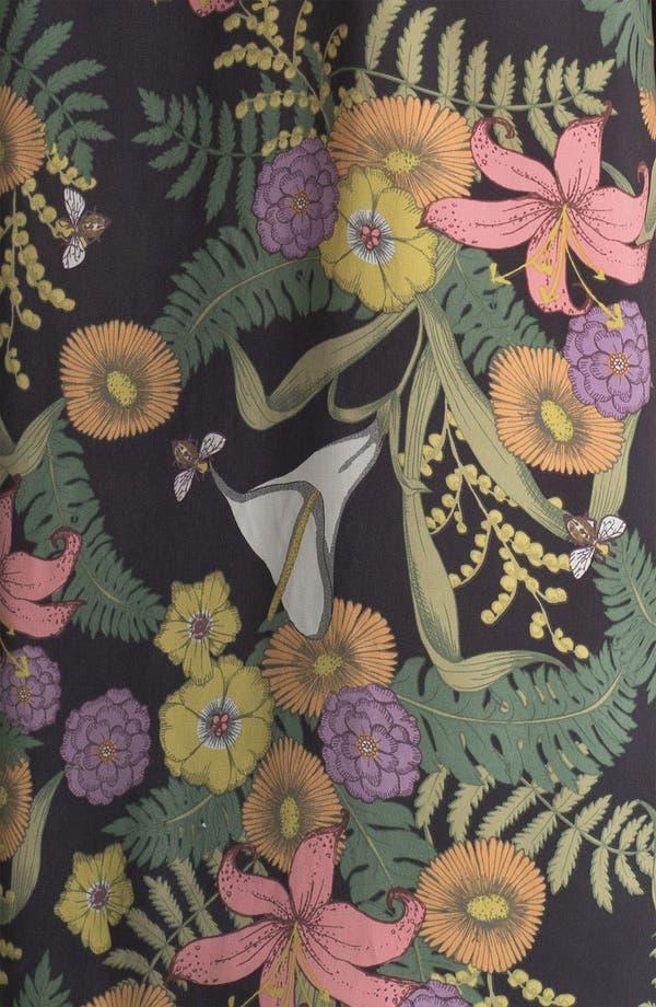 Alternate Image 3  - Collective Concepts Bead Trim Floral Print Tank