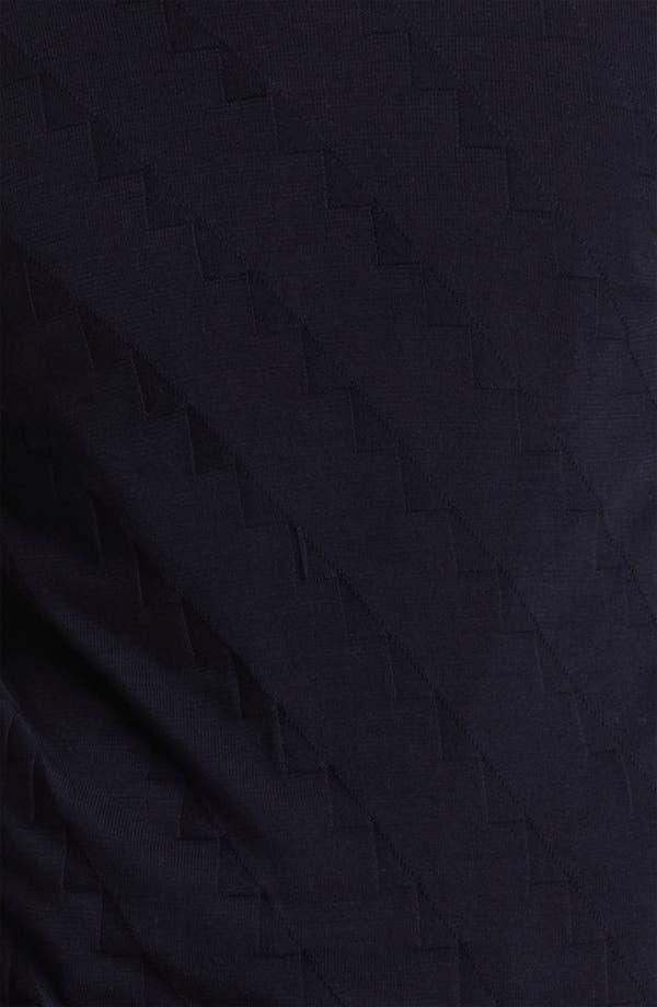 Alternate Image 2  - Armani Collezioni Geometric Pattern Sweater