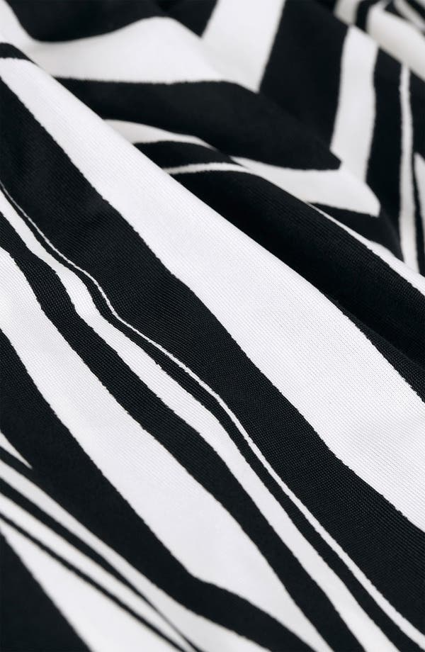 Alternate Image 3  - Topshop Black & White Optical Body-Con Dress