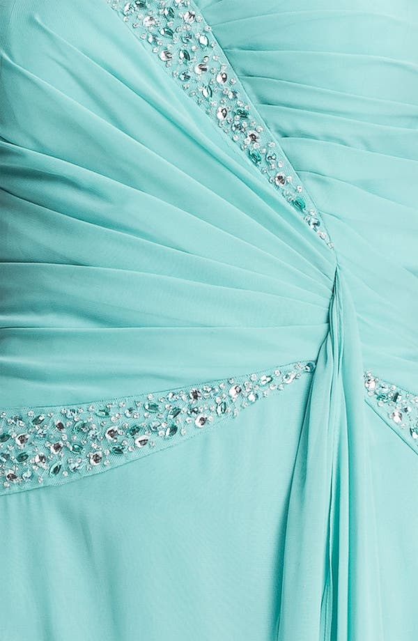 Alternate Image 3  - Hailey by Adrianna Papell Jeweled Chiffon Dress