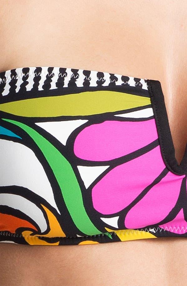 Alternate Image 5  - Trina Turk 'Aquarius' Bandeau Bikini Top