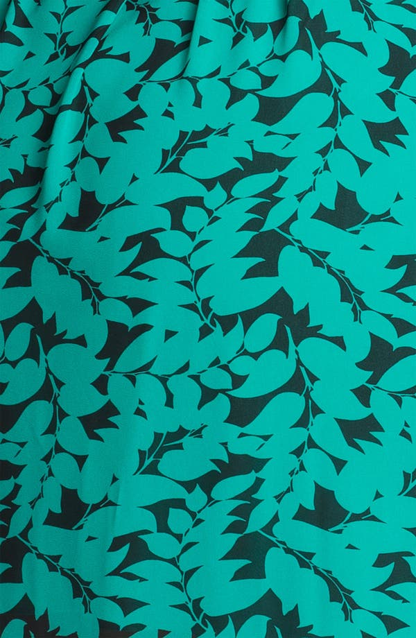 Alternate Image 3  - DKNYC Print Chiffon Shirtdress (Plus)