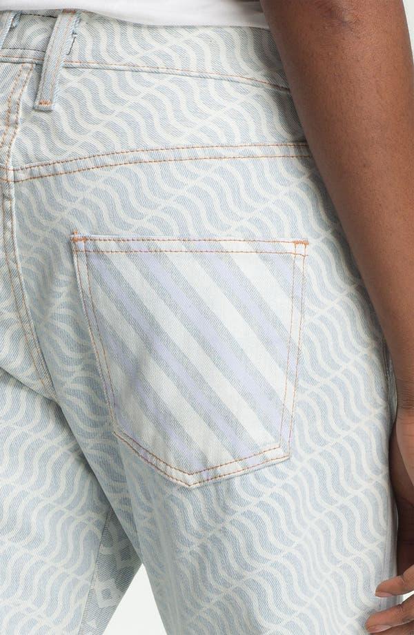 Alternate Image 3  - Mary Katrantzou Current/Elliott 'The Boyfriend' Print Jeans