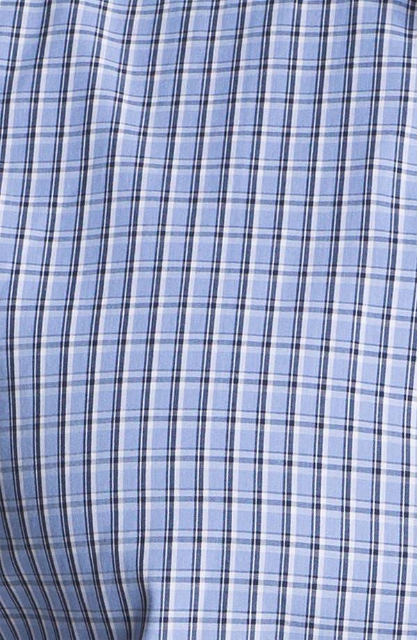 Alternate Image 3  - Cutter & Buck 'Sunset Hill' Check Sport Shirt (Big & Tall) (Online Only)