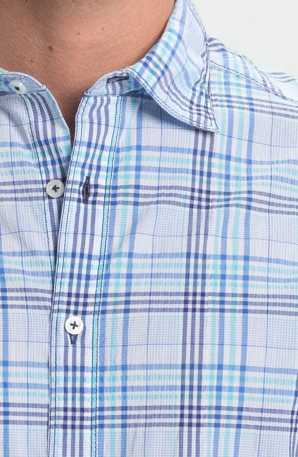 Alternate Image 3  - James Campbell 'Yupon Plaid' Sport Shirt