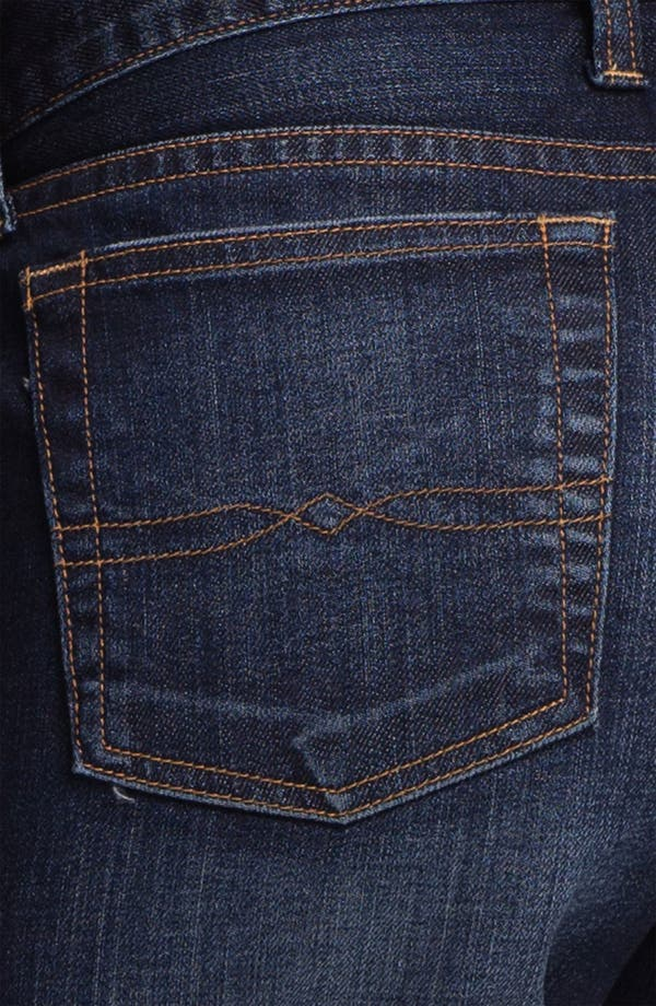 Alternate Image 3  - Lucky Brand 'Abbey' Double Roll Denim Shorts (Dark Helms)