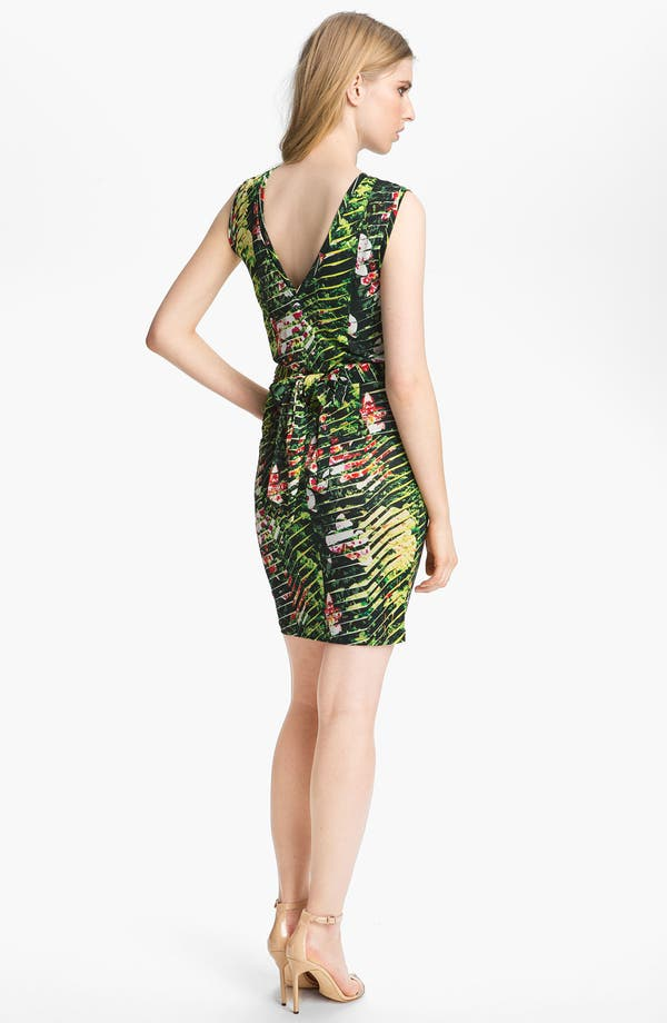 Alternate Image 2  - KENZO Orchid Print Dress