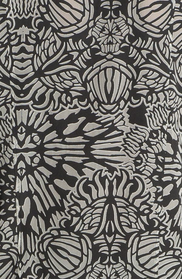 Alternate Image 4  - Helmut Lang Medallion Print Burnout Top