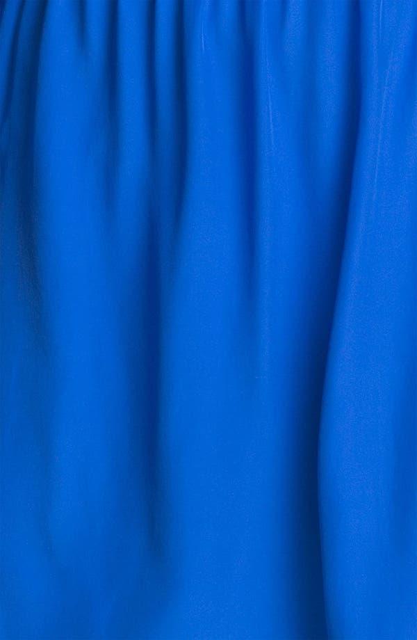 Alternate Image 3  - ALICE & TRIXIE 'Dylan' Silk Charmeuse Shirtdress