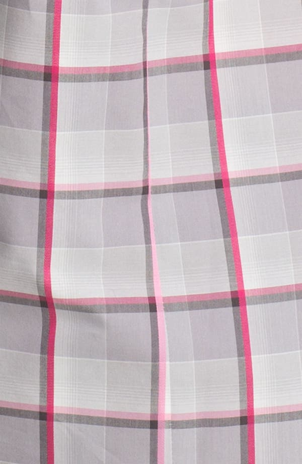 Alternate Image 3  - Foxcroft Zip Plaid Shirt