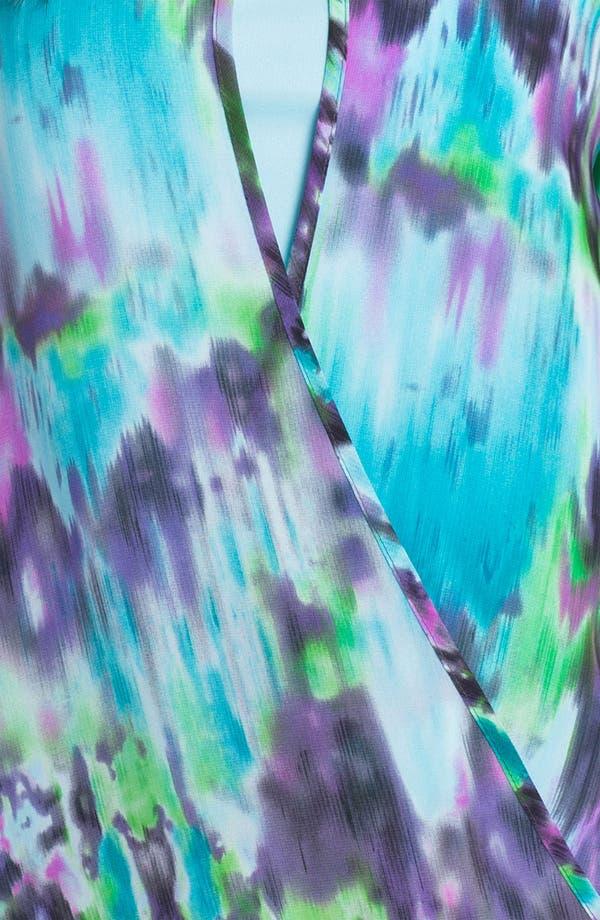 Alternate Image 3  - Kay Celine Faux Wrap Blouse & Tank