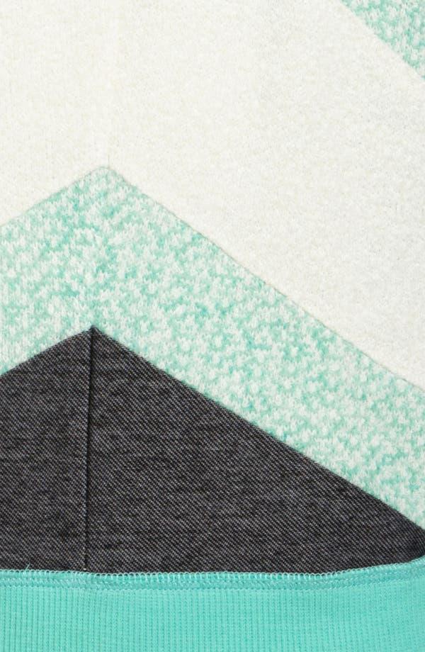 Alternate Image 4  - Lucca Couture Chevron Stripe Sweater