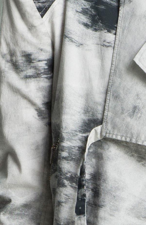 Alternate Image 6  - HELMUT Helmut Lang Smudge Print Poplin Jacket