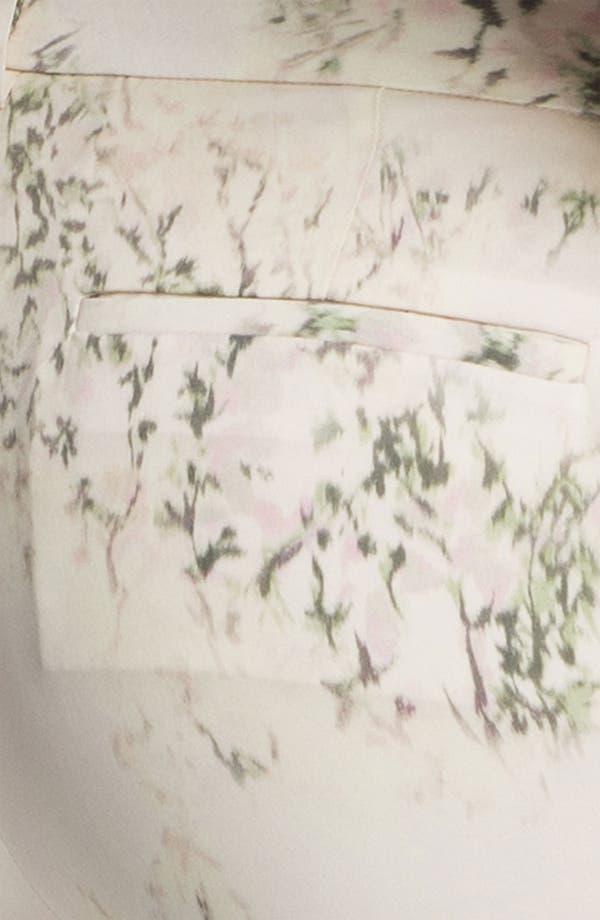 Alternate Image 3  - Theory 'Yogan' Silk Pants