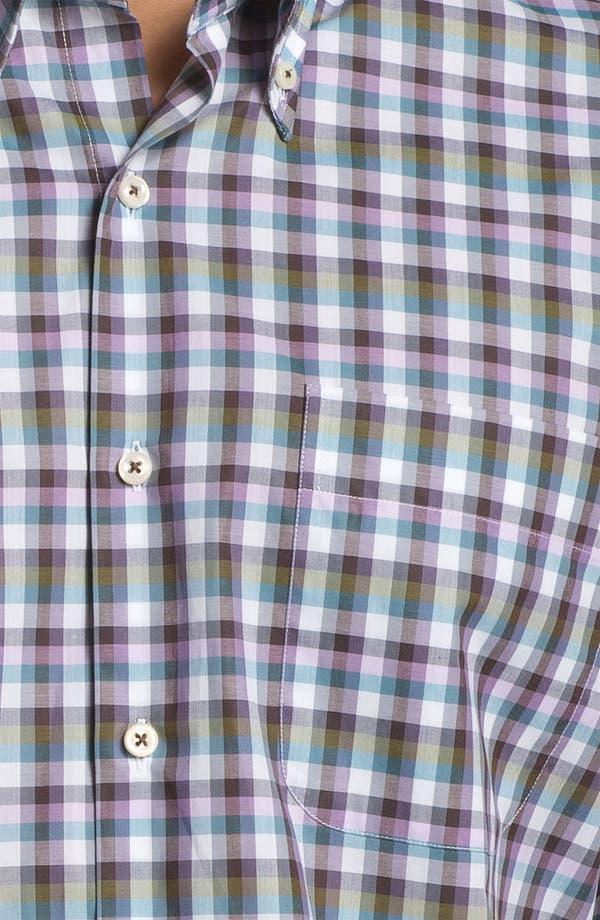 Alternate Image 3  - Peter Millar 'Capri' Regular Fit Sport Shirt (Tall)