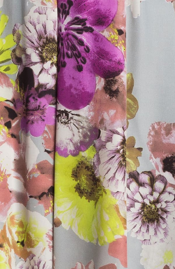 Alternate Image 3  - LABEL by five twelve Floral Print Fit & Flare Dress