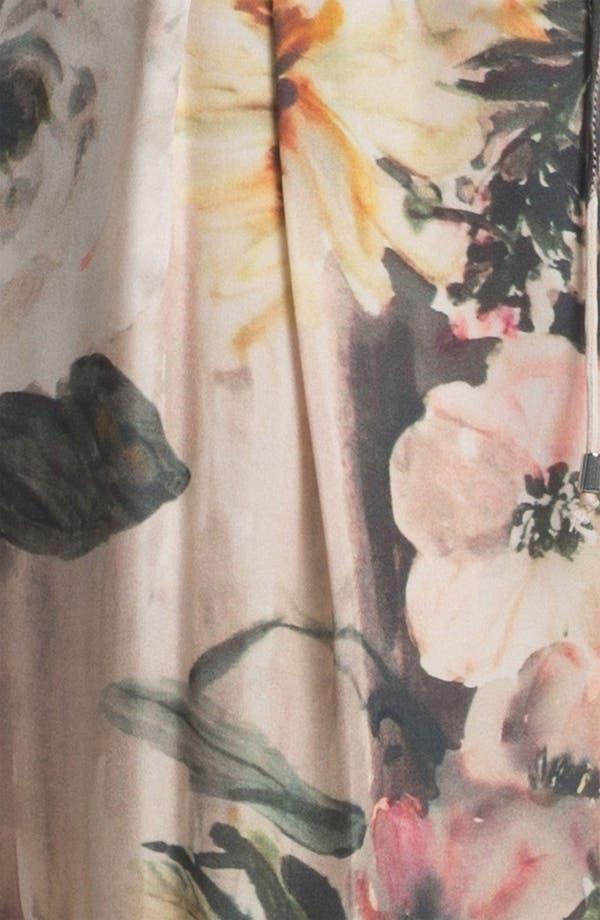 Alternate Image 4  - Haute Hippie Floral Print Drawstring Trousers