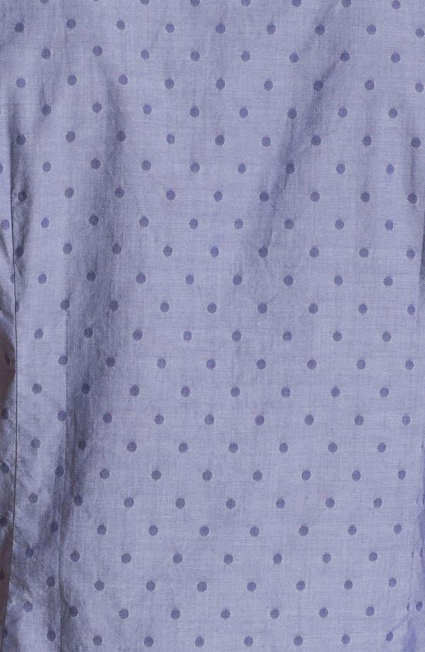 Alternate Image 3  - Ted Baker London 'Metrosp Dobby' Regular Fit Short Sleeve Sport Shirt