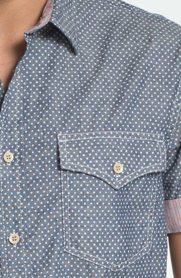 Alternate Image 3  - Just A Cheap Shirt Slim Fit Sport Shirt