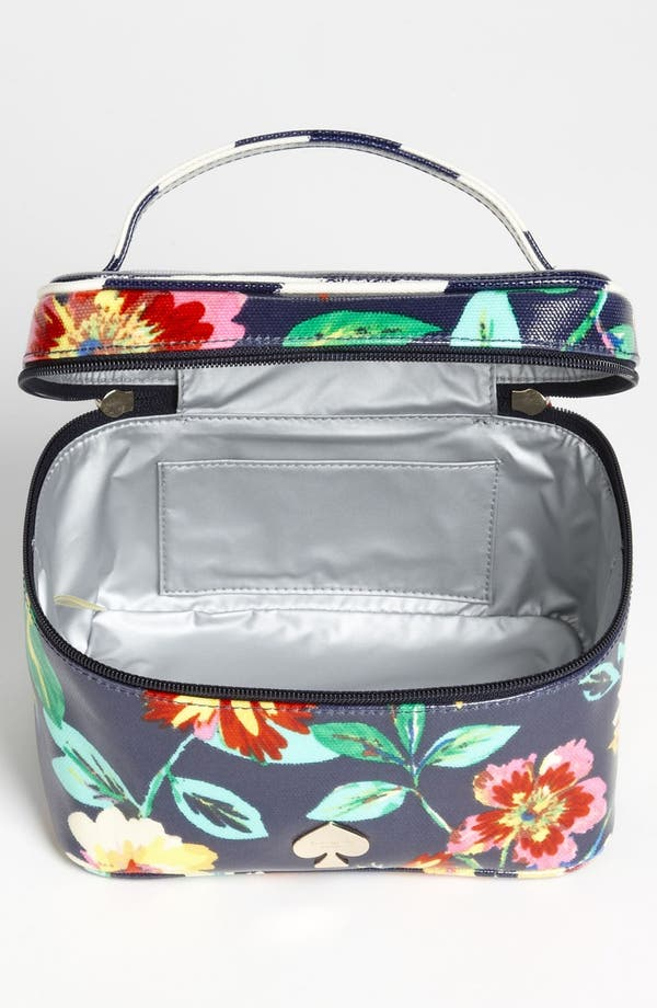 Alternate Image 3  - kate spade new york 'willow road - small natalie' cosmetics case