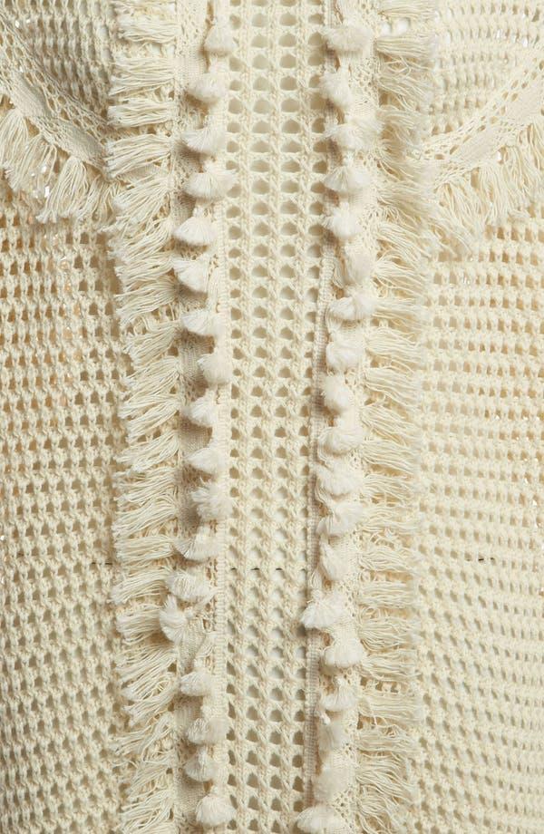 Alternate Image 3  - Leith Crochet Trim Pullover