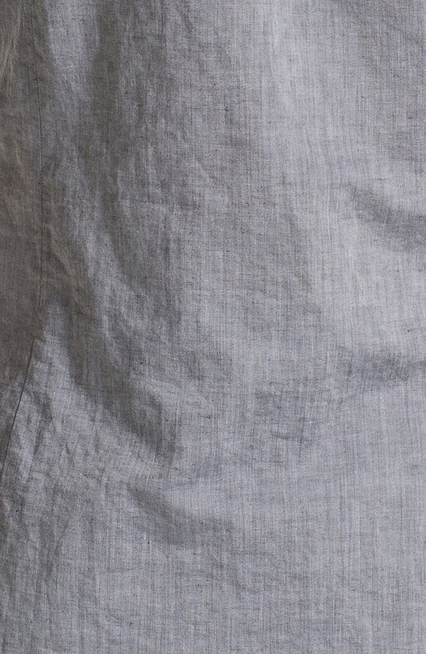 Slim Fit Shirt,                             Alternate thumbnail 3, color,                             Metal Black