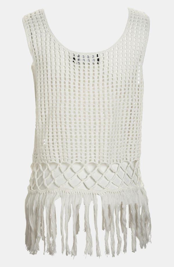Alternate Image 3  - MINKPINK 'Angel Tears' Crochet Tank