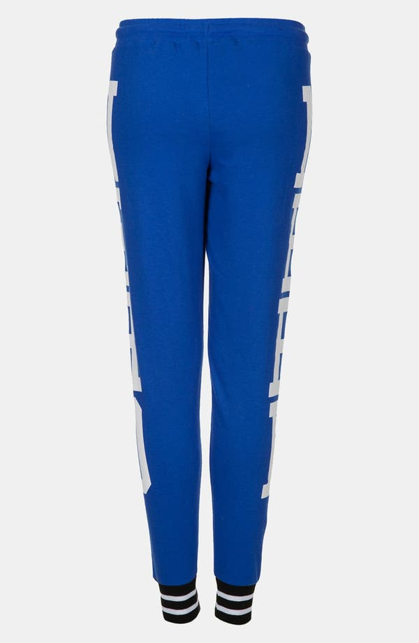Alternate Image 2  - Topshop 'Nerd' Graphic Tapered Sweatpants