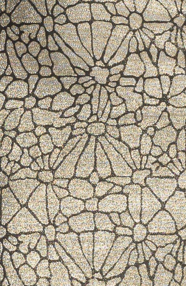 Alternate Image 3  - ERIN erin fetherston Metallic Peplum Sheath Dress