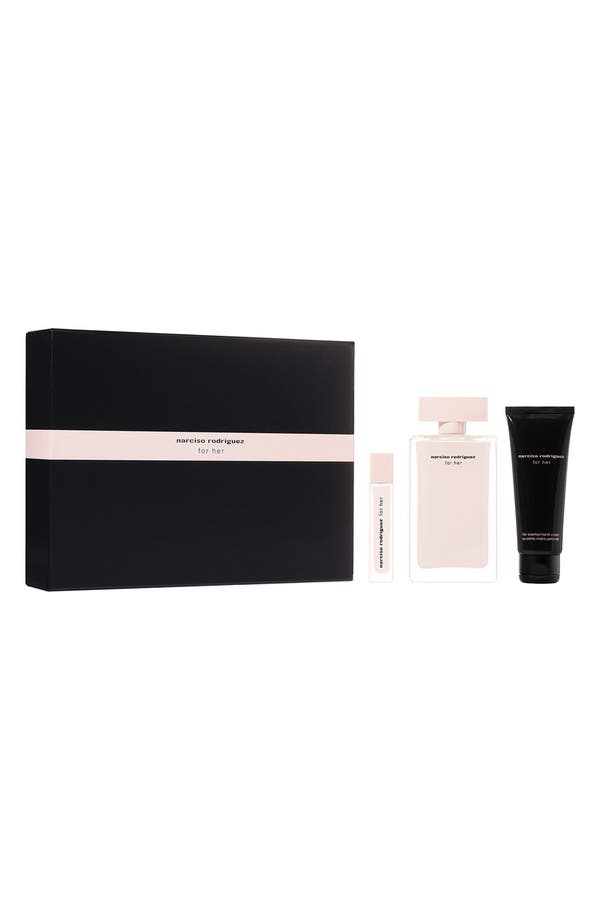 Alternate Image 1 Selected - Narciso Rodriguez 'For Her' Eau de Parfum Gift Set