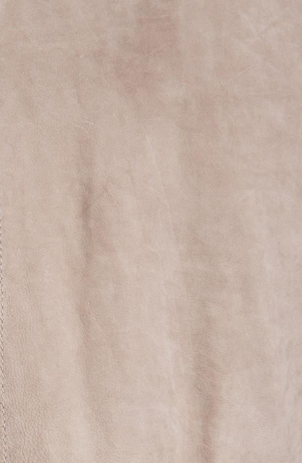 Alternate Image 3  - La Marque Nubuck Leather Biker Jacket