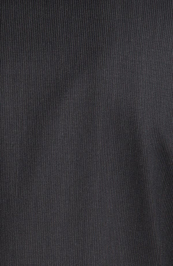 Alternate Image 6  - Joseph Abboud 'Signature Silver' Stripe Wool Suit (Online Only)