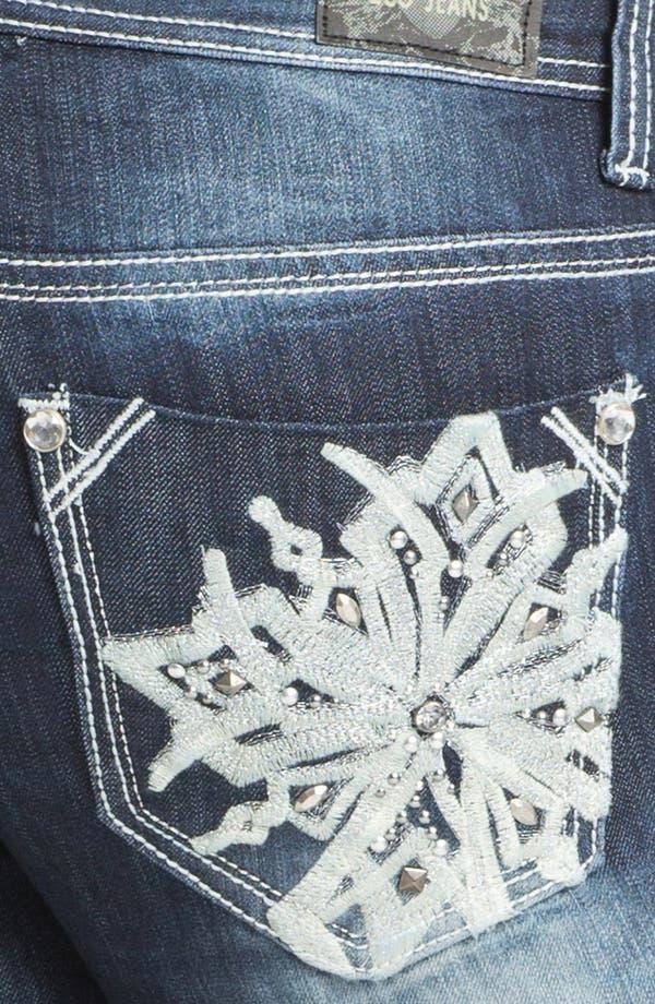 Alternate Image 3  - ZCO Bootcut Jeans (Juniors Plus)